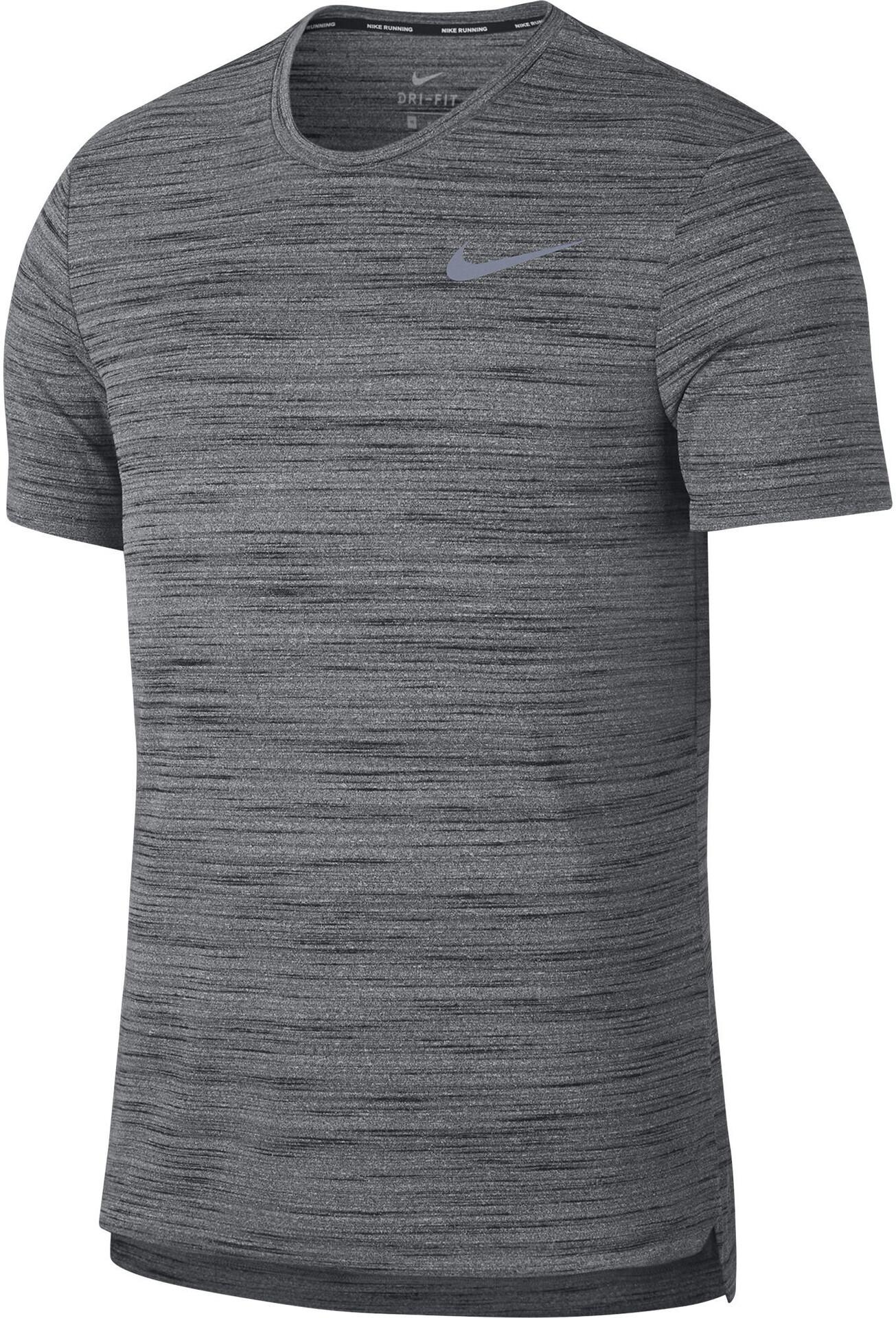 es Nike Gris Essential Hombre Bikester Miler Running Camiseta 0Xr0q8S